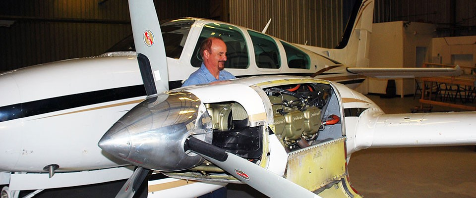 Aircraft Repair and MaintenanceOver three decades for service from a
